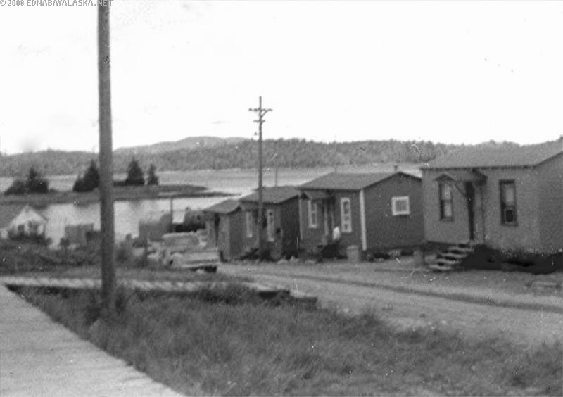 Edna Bay in 1956 - History in the making.